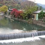 11月20日の京都嵐山の紅葉