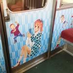 ちはやふる-京阪電車のラッピング電車