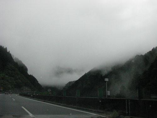 高知自動車道にて