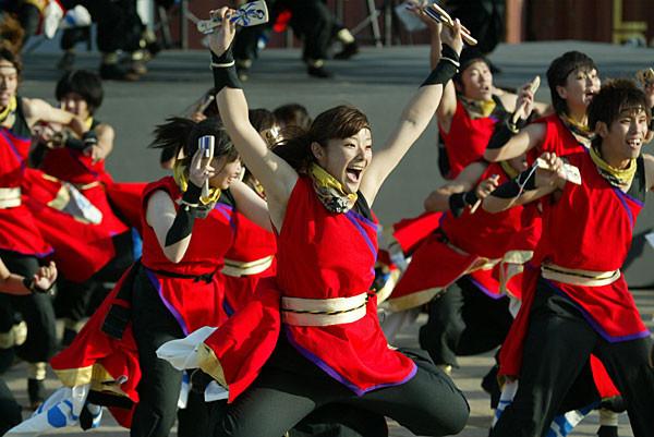 早稲田大学 踊り侍