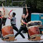 第6回よさこ大阪大会-芥川高校和太鼓部