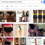 アメリカでは、30 Day Squat Challenge(30日スクワット チャレンジ)が流行っているそうな