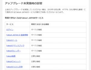 Yahoo HTTPS(SSL暗号化通信)