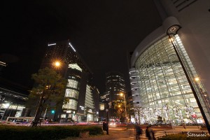 大阪駅夜景