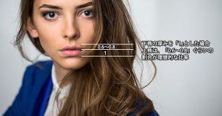 理想の唇の比率