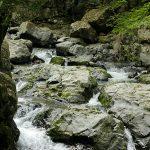 ものすごくでかい岩がある。ただそれだけで自然のすごさを感じてしまう・・・摂津峡